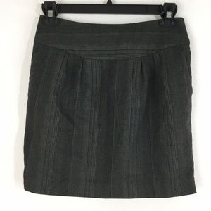 Michael Kors Skirt Brown Black Mini Career Work